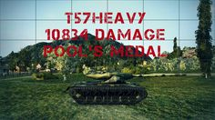 T57Heavy 10834 damage Pool's medal
