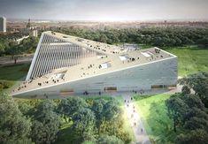 Проекты нового музея в Будапеште | AD Magazine