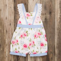 Eleanor Rose - French Roses Cynthia Romper