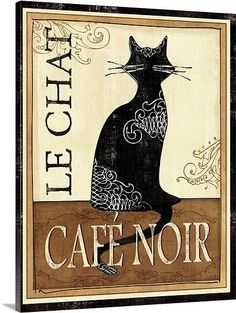 This woul be purrfect in my french cat theme kitchen :)