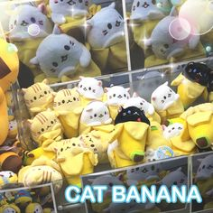Spotted: Cat Banana Plushies in a UFO Game Machine!