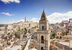 Il paesaggio fiabesco di Matera, non è magico?