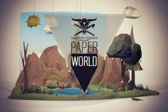 Paperworld by Robert Fahrnow