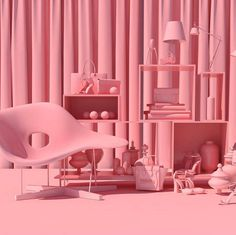http://www.fubiz.net/2015/11/27/surreal-pink-scenes-by-lee-sol/