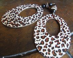 Wild Thang Wood Coco Pukalet and Glass Beaded by SatinDollCo, $15.00