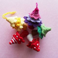Ravelry: Little Candy Trees pattern by Daniela Herbertz