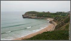 Playa de los Locos en Suances (Cantabria)