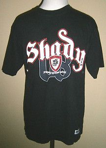 Mens Size S SHADY Ltd T Shirt, Puffy Graphics, Eminem, Slim Shady, Black/White. $18.50
