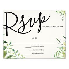 WEDDING RSVP CARDS handpainted Make your day special with these unique ideal for your wedding and Wedding Rsvp, Wedding Pins, Wedding Invitations, Wedding Response Cards, Custom Stationery, Floral Style, Announcement, No Response, How To Plan