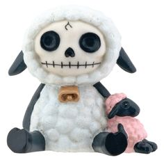 furry bones - sheep - figurine 7843   $8 - click on the photo for a direct link -  http://goreydetails.net/shop/index.php?main_page=product_info=70_79_id=795