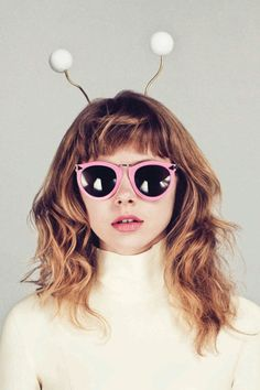 Karen Walker Eyewear: Little Aliens 2012 Lookbook