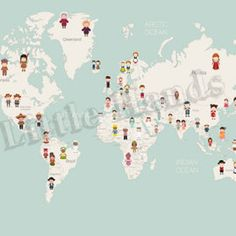 United Nations World Map wallpaper