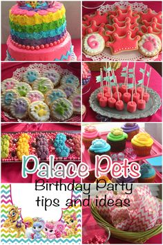 Palace Pets birthday party ideas