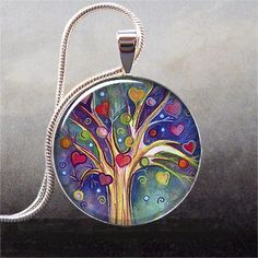 Ooh I want to make some of these pendants!