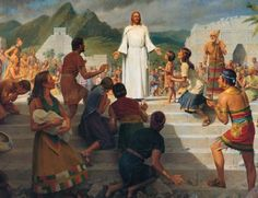 Jesus Christ is the central figure of the Book of Mormon. References of Jesus Christ in the Book of Mormon.