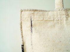 SALE! 白黒のぼろバッグ | iichi(いいち)| ハンドメイド・クラフト・手仕事品の販売・購入