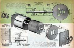 8c758889161 He aquí un gran motor que se ha relegado al olvido  La turbina Tesla.  Constituye un trabajo muy sencillo para el modelista