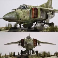 """Mig-23MF Polish Air Force ""abandoned aircraft"" 1/32"" Part 1 From/By: 林周市 #mig #polish #polonia #aircraft #diorama #dio #dioramas #airplane #aeronave #scalemodelkit #plastimodelo #plamodel #miniatura #miniature #maqueta #maquette #udk #usinadoskits"