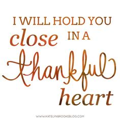 """""""I will hold you close in a thankful heart."""" Muppet Christmas Carol"""