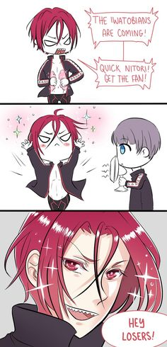 Eternally sparkling shoujo heroine Rin Matsuoka by Lily-Draws.deviantart.com on @deviantART LOL so that is what happened