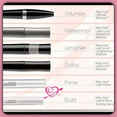 Enhance and nourish your lashes with Mary Kay http://www.marykay.com/shaykay Call or text 636-288-3543