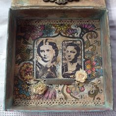 Innovative creativity from PaperArtsy. Paint, stencils, and techniques galore for any mixed media enthusiast to enjoy. Stamp Collecting, Scribble, Keepsake Boxes, Card Sizes, Shadow Box, Stencils, Mixed Media, Decorative Boxes, Doodles