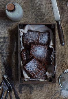 Ananás e Hortelã: Brownies de Chocolate e Manteiga de Amendoim
