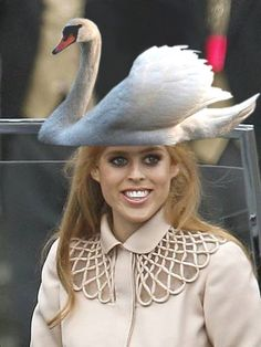 ..or perhaps an outrageous hat.
