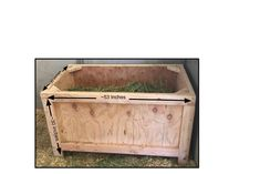 Horse Slow Feeder, Hay Feeder For Horses, Alfalfa Hay, Horse Hay, Compound Mitre Saw, Round Pen, Diy Crafts To Do, Chestnut Horse, Horse Stuff