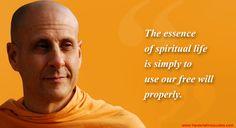 Radhanath Swami on Essence of Spirituality