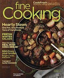 Fine Cooking Magazine, Feb/Mar 2013 (recipe index)
