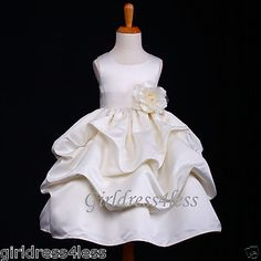 how cute a dress that almost matches the wedding gown