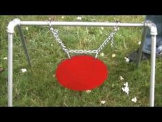 Steel Target Stand - YouTube