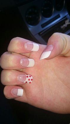 Red nail!