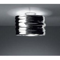 """Artemide Aqua Cil Ceiling Light (150 w halogen) (.5 x 12"""")"""