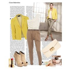 yellow with this color of pants