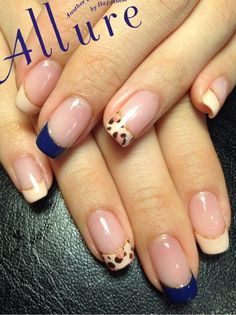 Different color or alternating stamped tips