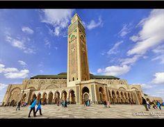 Masjid Al-Hassan II, Casablanca, Morocco