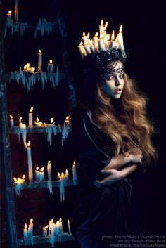 """""""Death"""" by Ksenia Tomacheva (Muza)~Beguiling Images~ [Personally, I can only see the light of life here...]"""