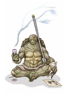Donatello: The Staff by MurderousAutomaton on DeviantArt