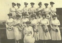 red cross knitting group 1918 by spiden001, via Flickr