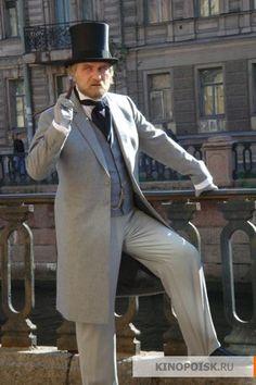 Лужин (Андрей Зибров). Сериал 2007 года.Снят режиссером Дмитрием Светозаровым.
