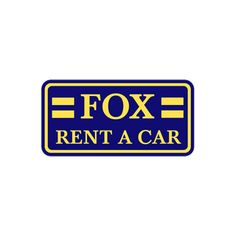 Book Car rental, Fox Rent a car