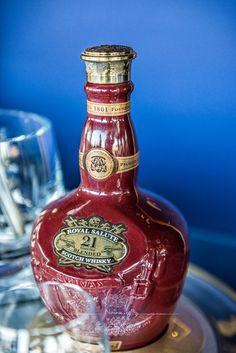 Bottle of Royal Salute 21 Yr Old Scotch : Royal Salute MoJ Diamond Jubilee Polo