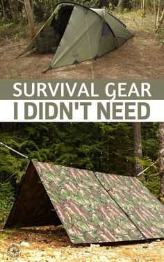 Survival Gear I didn't Need - This article has some really great gear in it! I am talking about top tier gear you would assume would be great to own. The author gives you all the reasons this stuff didn't work. In some cases he even gives you the replacements he purchased as well. #survival #prepping #preparedness #prepper