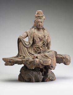 Bodhisattva Avalokiteshvara (Guanyin) Made in China Period: Jin Dynasty (1115-1234) to Yuan Dynasty (1271-1368) 12th - 13th century