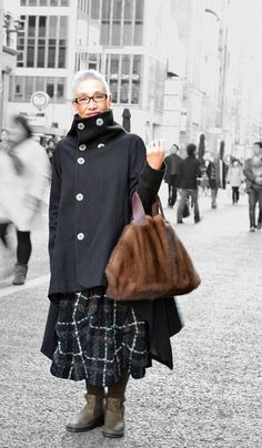 """シニア世代のファッション・スナップサイト「L'idéal」が超かっこいい! いわゆる """"おばあちゃん""""のイメージを覆すおしゃれ感"""