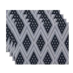 Tribal Diamond Print Table Top Placemat