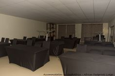 Conference venue available at African Footprints Lodge. Lodges in Bloemfontein.