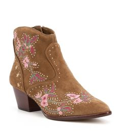 Shop for Gianni Bini Ramsie Western Floral Embroidered Booties at Dillards.com. Visit Dillards.com to find clothing, accessories, shoes, cosmetics & more. The Style of Your Life.